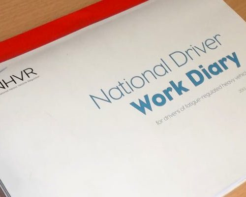 National Driver Work Diary